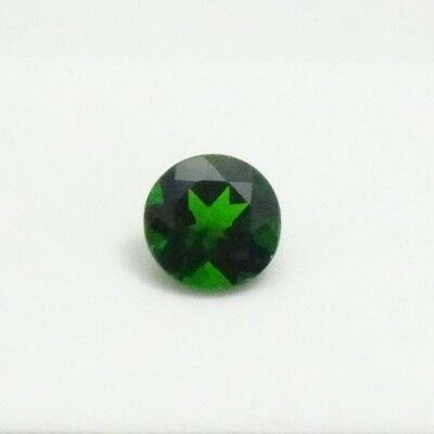 2.0ct+ Russian Chrome Diopside - 8mm Round - Chrome Diopside Loose Gemstone