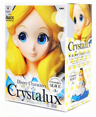 Banpresto Crystalux Disney Characters Alice in Wonderland Alice 9cm Figure