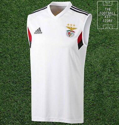 Benfica Sleeveless Training Shirt - adidas SLB Football Train Top - All Sizes