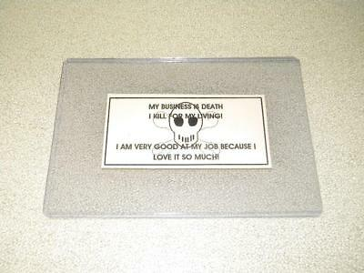 Nva / Vietcong Vietnam War Original  Authentic Trail Death Card  Free Shipping