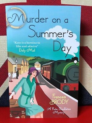 Murder on a Summer's Day by Frances Brody(Paperback 2013) Kate Shackleton Book 5