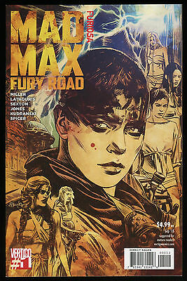Mad Max Fury Road Furiosa #1 2nd Print Comic Movie Prequel Immortan Joe Road Nux