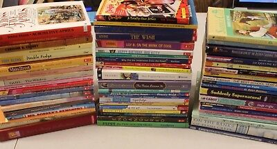 Lot of 50+ Teen Young Adult Girl Books ~ Friendship, High School, Scholastic, Fi