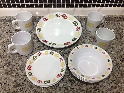 Caravan And c&ing Melamine Tableware & CARAVAN And camping Melamine Tableware - £0.99 | PicClick UK