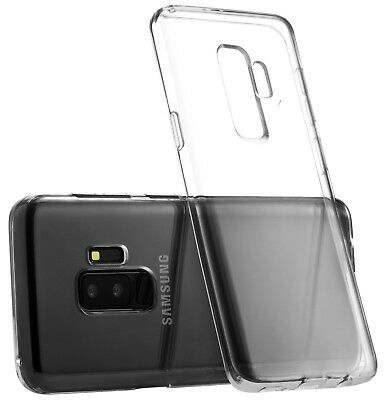 Samsung Galaxy S9 Case S9 Plus Case Silicone Rubber Clear TPU Cover Soft Bumper