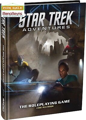 BEST Star Trek Adv Core Rulebook Modiphius Entertainment Adventures Role Playing