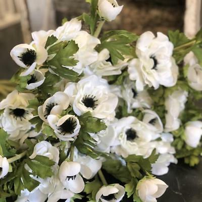 Artificial Silk Anemone Flower Stem