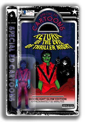 Special Ed Michael Jackson Thriller Figure Limited Edition Action Moonlight Glow