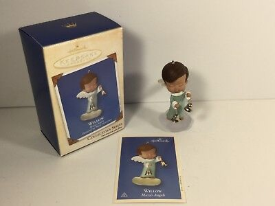 Hallmark Ornament 2002 Willow Mary's Angels Fifteenth in Series Mint