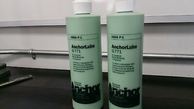 AnchorLube G-771 16 Oz. 2 pack FREE SHIPPING Anchor Lube BY Anchor chemical