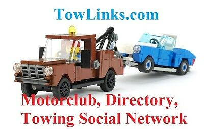 Premium Aged Domain Name TowLinks.com Towing motorclub directory TAX TIME SALE