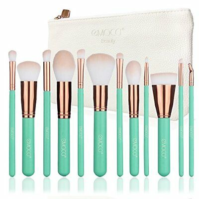 Makeup Brush Set Soft Synthetic Bristles Make Up Powder Blush Contour Eyeshadow