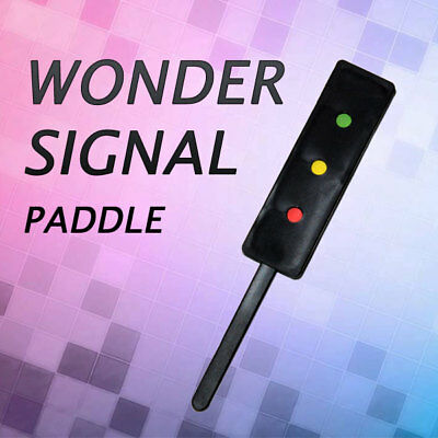 Magician's Wonder Signal Traffic Light Paddle Effect Trick for Real Magic Tricks