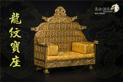 KunLun Toys NO.10001 1/6 Scale Ancient Emperors Dragon Chair Model Toy