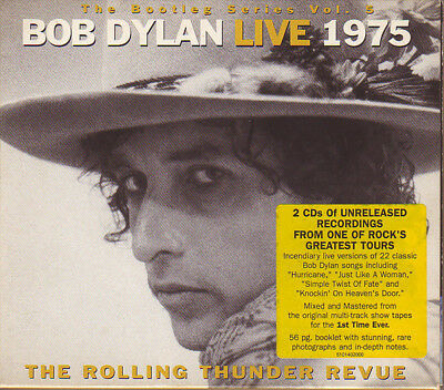 Bob Dylan, Live 1975 (The Rolling Thunder Revue) , 2 X Cd Europe 2002 (Sealed)