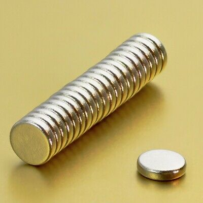 20Pcs 4x1mm Super Strong Round Disc Rare-Earth Neodymium Cylinder Magnets Set