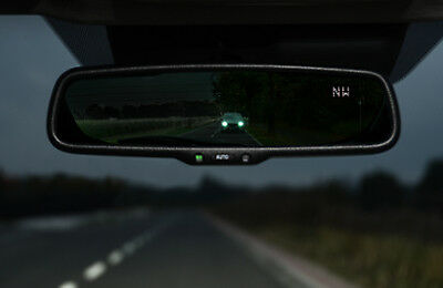 Genuine Mazda 2 2014 on Auto-Dimming Rear-view Mirror with Compass - DD2F-V1-740