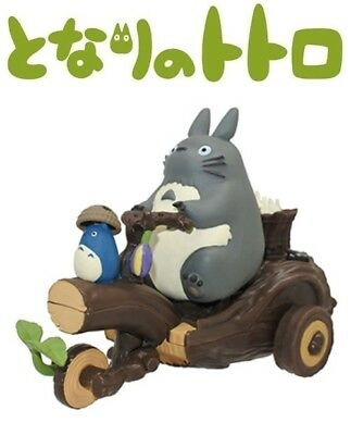 Ensky My Neighbor Totoro Pullback Collection Totoro's Handmade Tricycle Figure