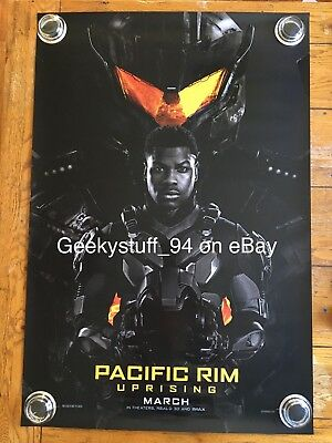 Pacific Rim Uprising DS Theatrical Movie Poster 27x40