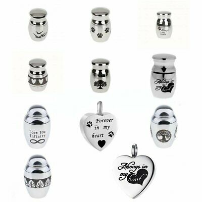 10 Styles Creative Mini Keepsake Urn Small Cremation Urn for Ashes Funeral Urn
