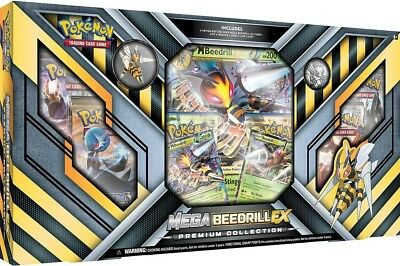 Pokemon TCG: Mega Beedrill EX Premium Collection :: Brand New And Sealed Box!