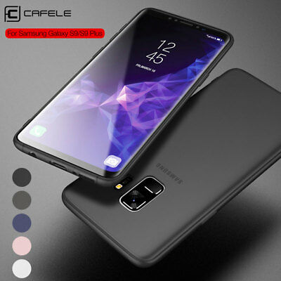 Ultra Slim Thin Case Matte Shockproof Bumper Cover For Samsung Galaxy S8 S9 Plus