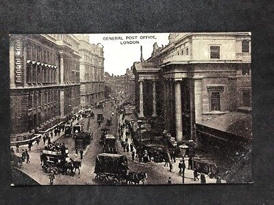 Vintage Real Photo Postcard #TP1649: General Post Office London