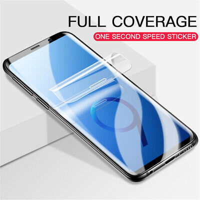 [2 Pics] Full Coverage TPU Screen Protector for Samsung Galaxy S9/S8/Plus/Note 8