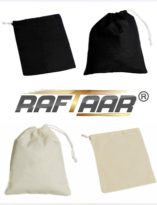 Drawstring pouch cotton 100% quality giftbag/pouch wholesale storage 2 colours
