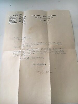 Cordell Hull - Typed Letter Signed 03/13/1925