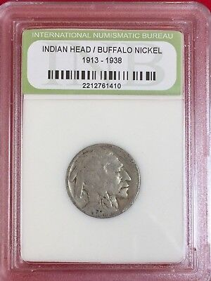 1920 Buffalo Nickel~Antique~Rare Coin~ Certified by INB~A#112