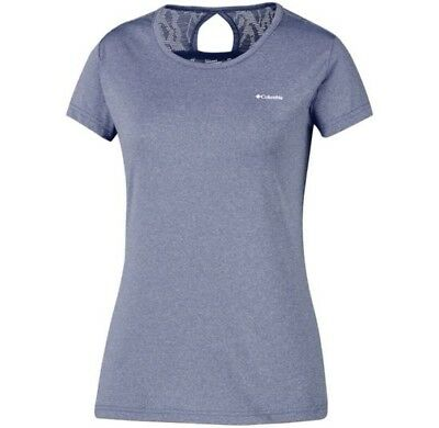 Columbia Peak to Point Novelty shirt lilas, t-shirt randonnée femme.