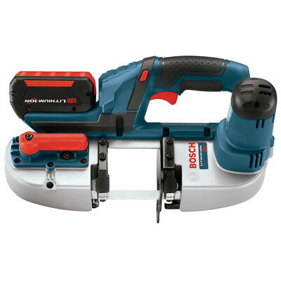 """Bosch 18V Li-Ion 2-1/2"""" Portable Band Saw Kit BSH180-01 Reconditioned"""