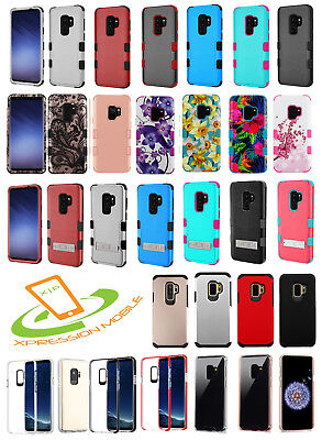 Samsung Galaxy S9 / S9 Plus Case Shockproof Armor Rugged Protective Hybrid Cover
