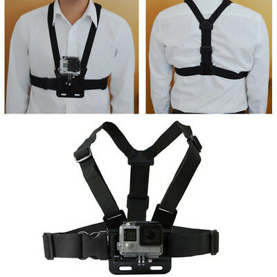 Chest Strap Harness Mount Adjustable For GoPro HD Hero 1 2 3 3+ 4 Camera 2019