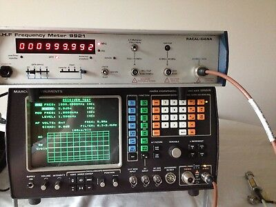 RACAL DANA 9921 10HZ TO 3GHZ Microwave Frequency counter 9 digit accurate tested
