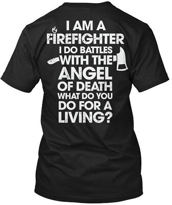 Firefighter Battles Funny Gift - I Am A Do With The Hanes Tagless Tee T-Shirt