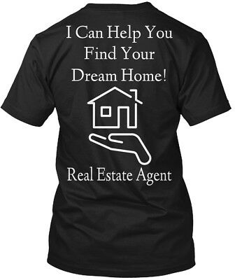 Quality Dream Home Real Estate Agent Apparel - I Can Hanes Tagless Tee T-Shirt