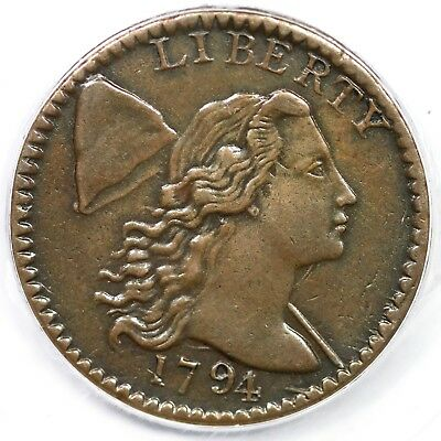 1794 S-63 R-2 PCGS XF 40 Head of 1795 Liberty Cap Large Cent Coin 1c