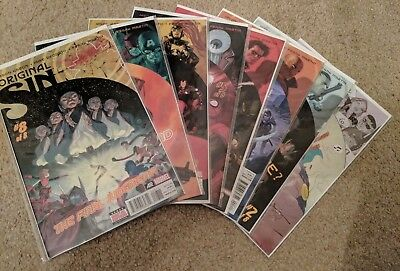 Marvel Original Sin #1 - 8 (First Issue with Variant Cover)