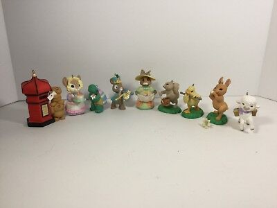 Hallmark Ornament Lot of 9 Ornaments from Hallmark Easter Collection