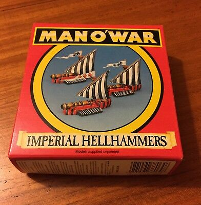 Warhammer Man O'War -  Imperial Hellhammers (1993) Unpainted