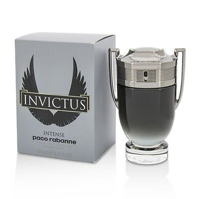 Paco Rabanne Invictus Intense Edt Spray 100ml Mens Perfume