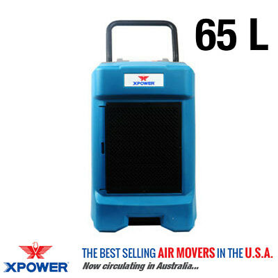 XPower VD-65L Commercial Dehumidifier - Water Damage Restoration, Air Drying