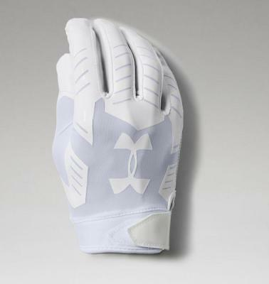 Under Armour Men's UA F6 Football Gloves 1304694-100 White