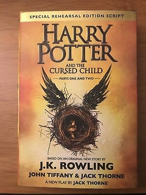 Harry Potter and the Cursed Child | Hardcover - First Edition | J.K. Rowling