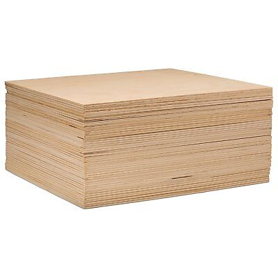"3 mm 1/8"" x 12"" x 12"" premium baltic birch plywood – b/bb grade -16 flat sheets"