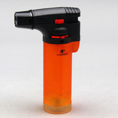 COHIBA Orange Fire Extinguisher Style Torch Jet Flame Cigar Lighter New