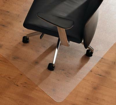 Frosted Floor Protector Mat Home Office Caravan Under Chair Carpet Non Slip NEW