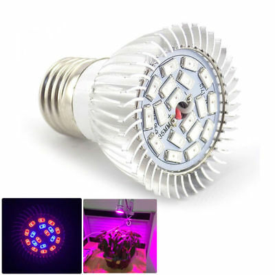 Full spectrum 18 led Grow Light bulb plant lighting Hydroponic indoor greenhouse